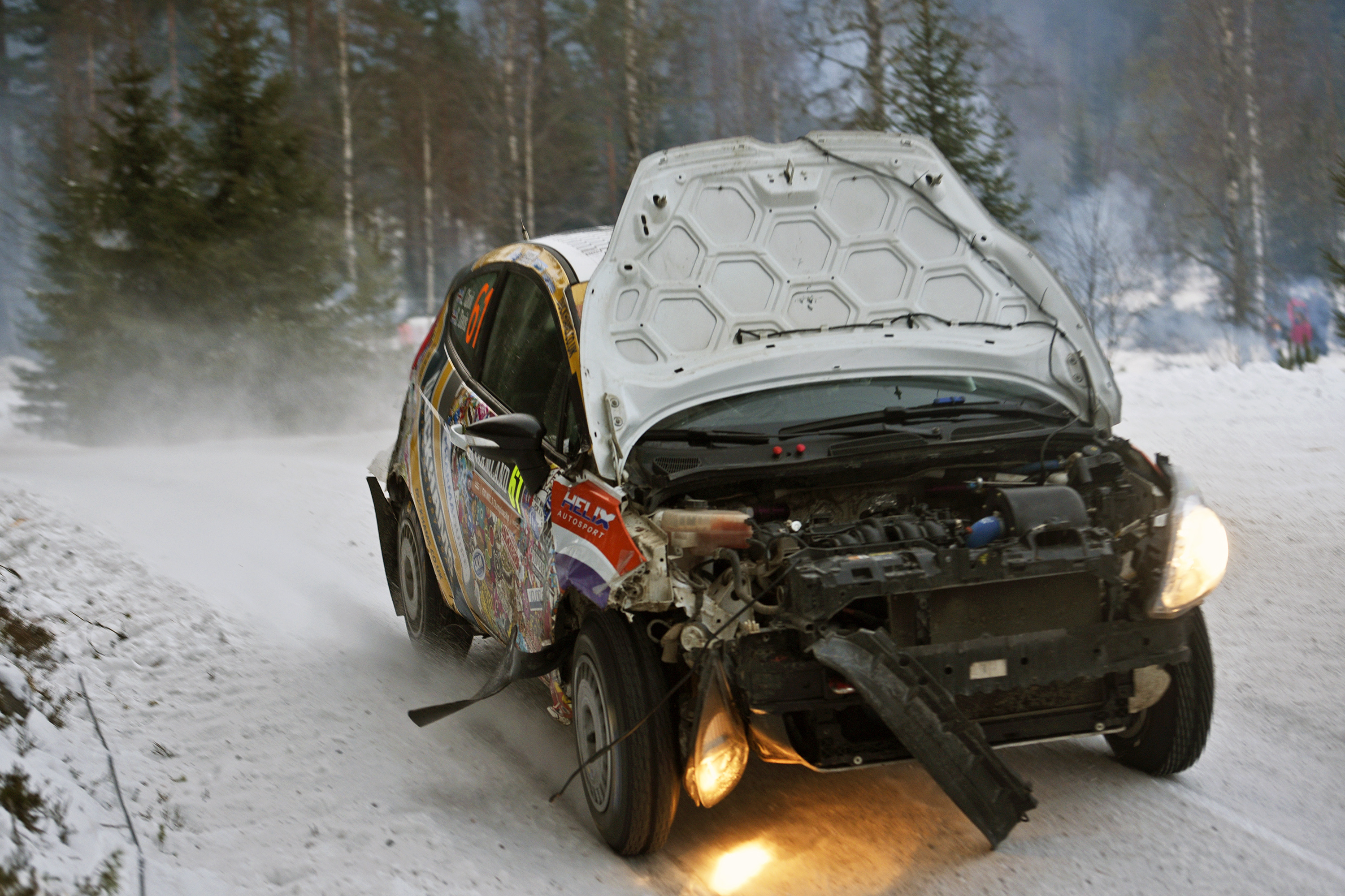 WRC Louise Cook Rally Sweden