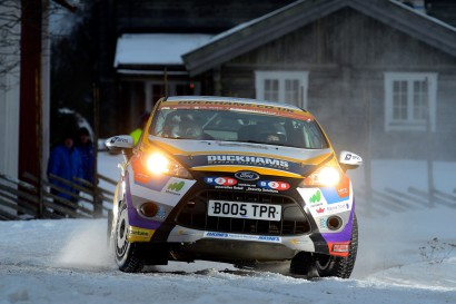 Louise Cook WRC Rally Sweden